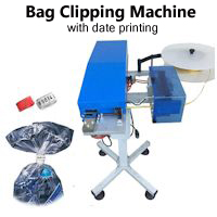 Bag Clipping & Packaging Machine